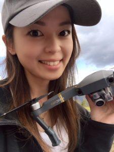 琵琶湖DRONE WALKER(ドローン ウォーカー)釘田奈緒美